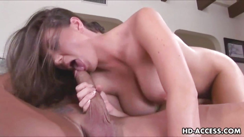 Horny babe with big tits gets fucked